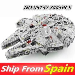 05132 05007 05063 05027 Star Wars Bausteine Millennium Kraft Weckt Falcon kompatibel mit 75105 75192 Kinder Spielzeug