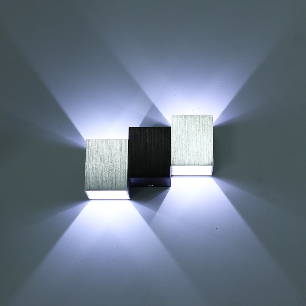 Bedroom modern wall lights - Modern Led Wall Lamp 2w 6w Wall Sconce White Indoor Lamp Ac85 265v Led Wall