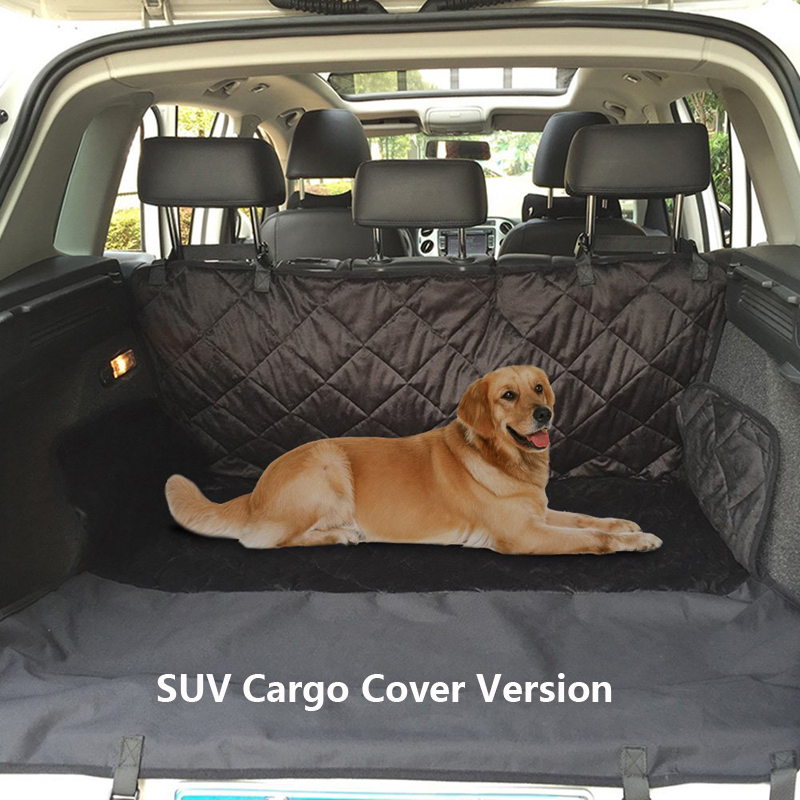 Dual-use Dog Car Seat Cover Car Seat For Dog SUV Dog Car Trunk Cargo Mat Travel Hammock Bed Transporter Dog Carrier Pet Products