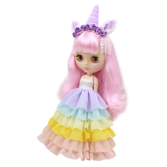 Neo Blythe Doll Unicorn Clothes