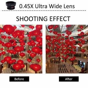 Image 5 - 37mm 0,45x super szeroki kąt obiektywu w/makro dla Panasonic Lumix DMC LX7 LX7 aparat cyfrowy