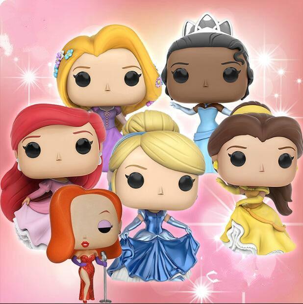 Funko Pop Princess Doll Collectible Model Toys Cinderella, Rapunzel,Elsa Anna Vinyl Action Figure Kids ToyFunko Pop Princess Doll Collectible Model Toys Cinderella, Rapunzel,Elsa Anna Vinyl Action Figure Kids Toy
