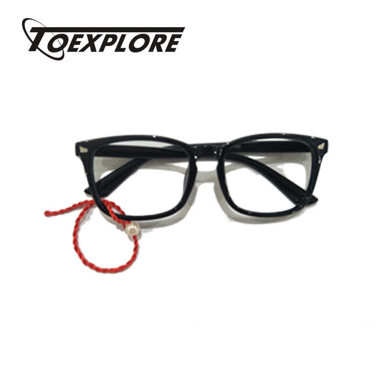 dca558b90fa7 ... TOEXPLORE Men Women Eyewear Frame For Myopia Without Lens Vintage Retro  Optical Frame Brand Designer Used
