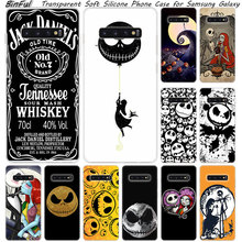 Hot jack skellington Soft Silicone Case For Samsung