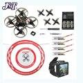 JMT Happymodel Mobula7 V2 75 мм Crazybee F4 Pro OSD 2S BWhoop FPV гоночный Дрон Mobula 7 BNF Квадрокоптер с FPV часами арочный фартук