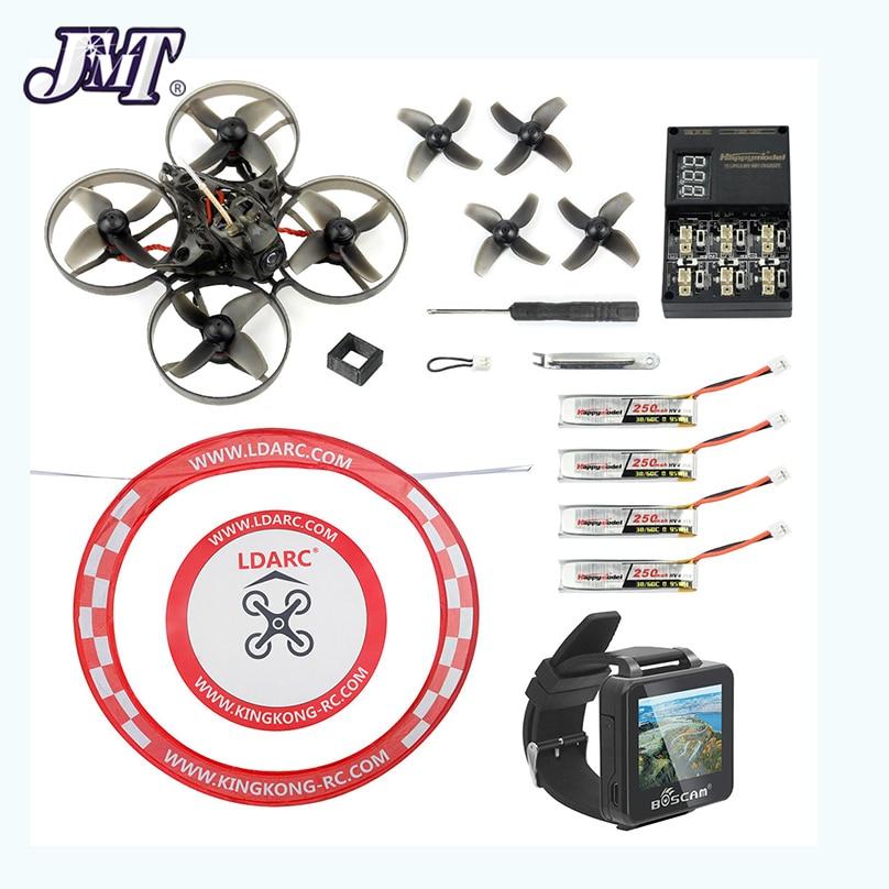 Oyuncaklar ve Hobi Ürünleri'ten Parçalar ve Aksesuarlar'de JMT Happymodel Mobula7 V2 75mm Crazybee F4 Pro OSD 2S BWhoop FPV Yarış Drone Mobula 7 BNF Quadcopter FPV Izle Kemer Önlük'da  Grup 1