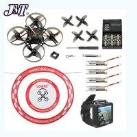 Jmt happymodel mobula7 v2 75mm crazybee f4 pro osd 2 s bwhoop fpv corrida zangão mobula 7 bnf quadcopter com fpv relógio arco avental
