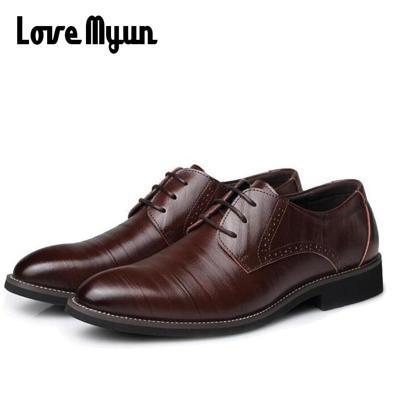 Erkek hakiki deri ayakkabı erkek elbise ayakkabı İş düğün - Erkek Ayakkabıları - Fotoğraf 6