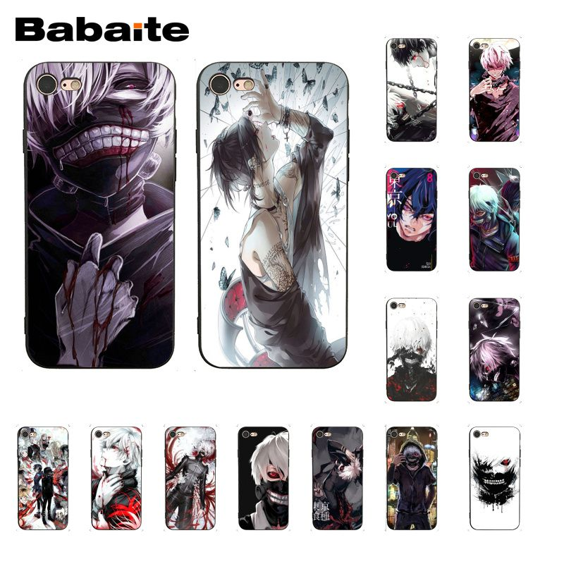 best tokyo ghoul silicone case ideas and get free shipping