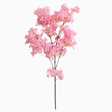 HUAIU Artificial Flower Cherry Home Party Decoration Wedding Rose Bride Holding Flowers Wall Accessories Fake