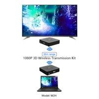Measy w2h HDMI Extender 99 Kanäle HD 1080 P H.264 HDMI zu RF HDMI Extender Sender und Empfänger