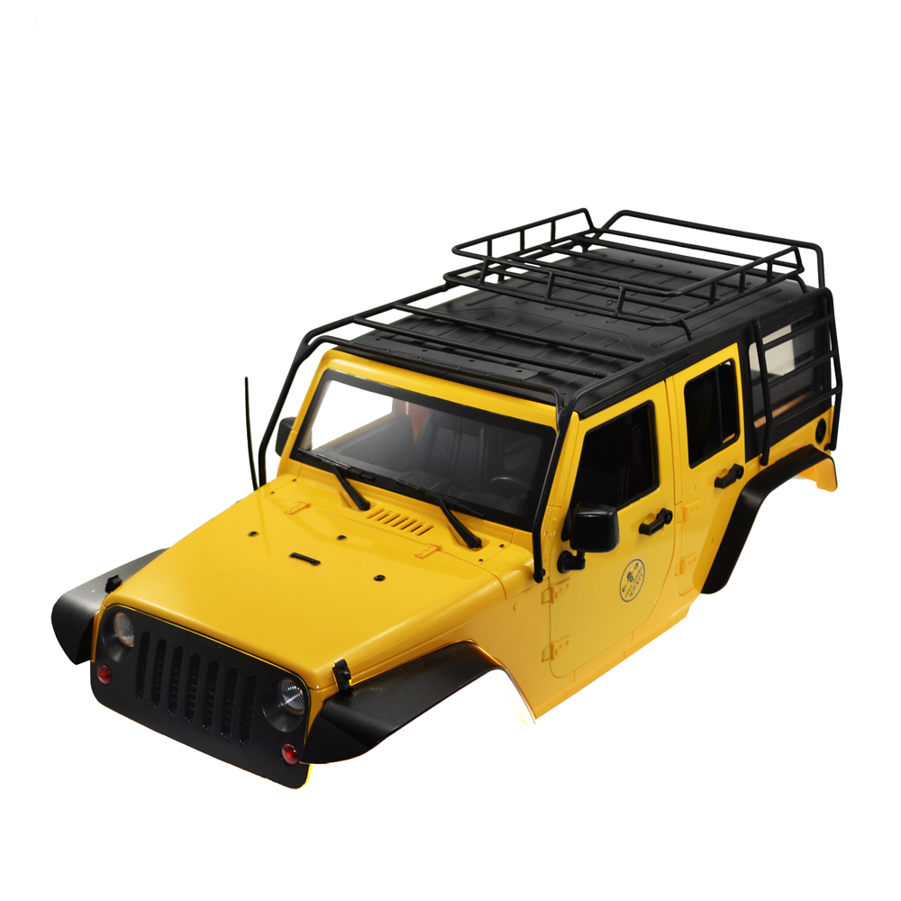 RCAidong RC Rock Crawler 1:10 Crawler Car Shell and Luggage Rack for Axial SCX10 RC4WD D90 D110 Hard Plastic Wheelbase 313 MM la mer collections la mer collections lmsaturn1505