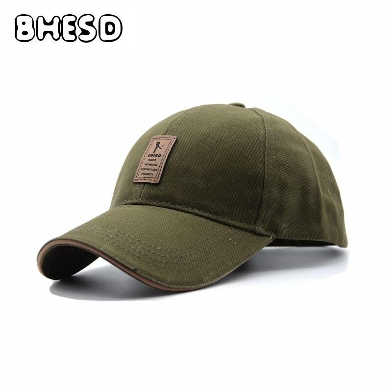 b5171c78202a BHESD 2017 Men Green Dad Hat Women Snapback Trucker Cap Fitted Hat Autumn Baseball  Cap Bone Casquette Masculino Gorros JY-232