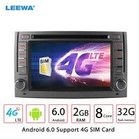 LEEWA 6,2 Android 6,0 (64bit) DDR3 2 г/32 г/4 г LTE Octa Core автомобильный DVD gps радио головное устройство для hyundai h1/H 1/H3Grand Starex/i800