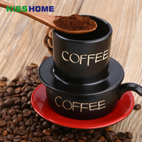 Pottery Vietnam Coffee Dripper Filter Cup For 1 People 6x10cm Cafe Maker Without Filter Paper Drip Filter Pot Coffee Tools