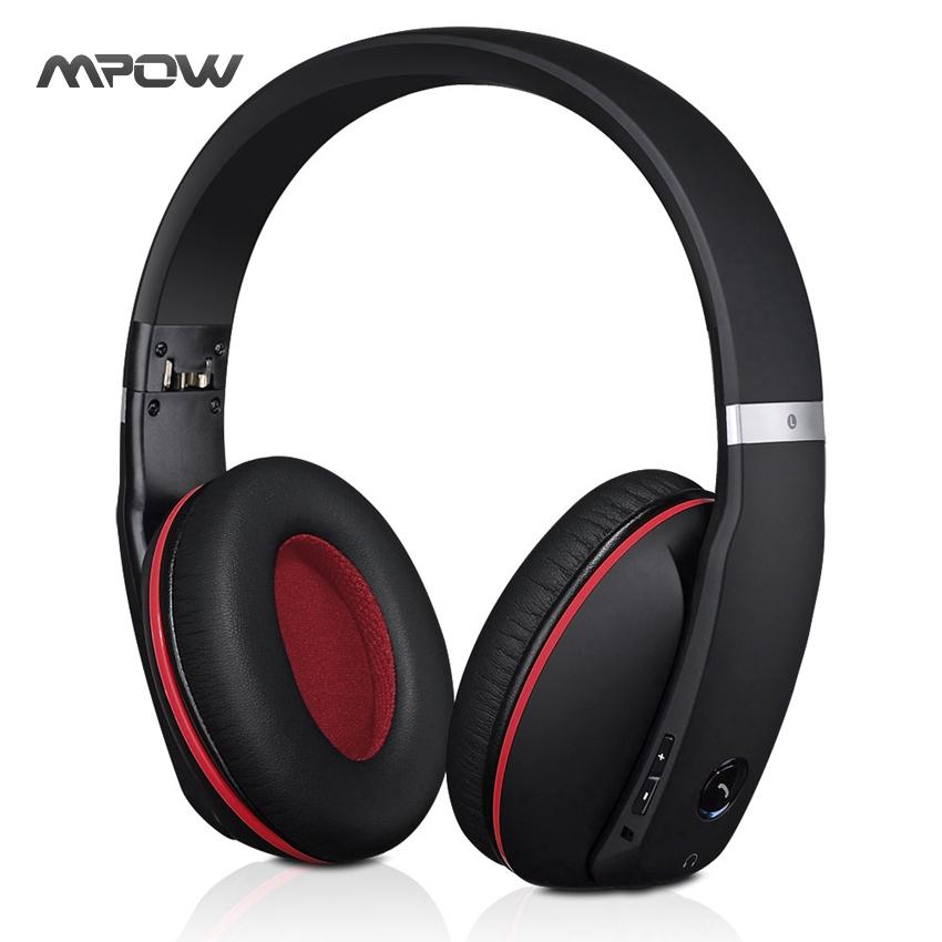 Prix pour MBH22 Mpow Fantôme Sans Fil Casque Bluetooth 4.0 Casque Apt-X Casque Antibruit Mic Appels Mains Libres pour iPhone