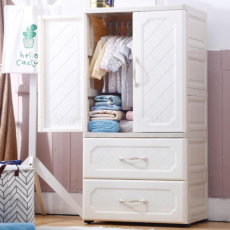 Wardrobe Baby Plastic Drawer Storage