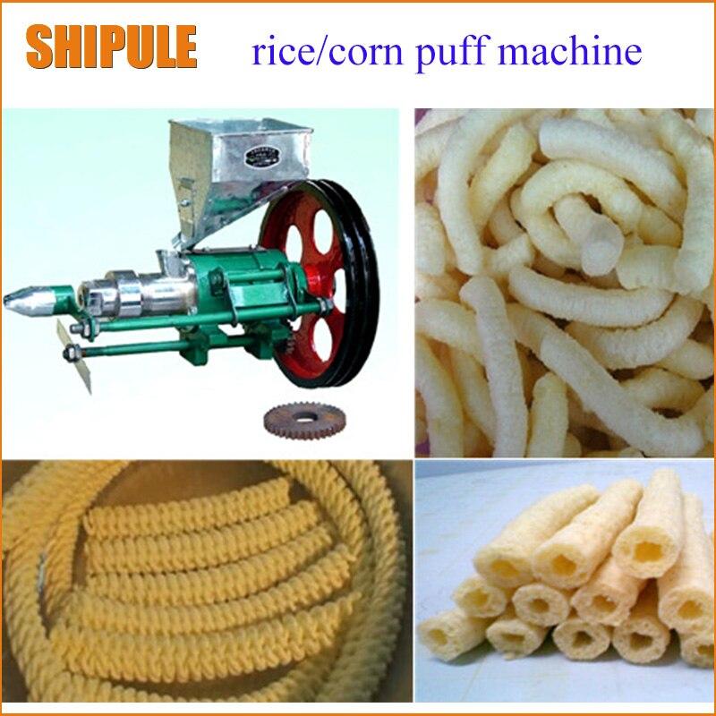 Machine d'extrusion de nourriture d'expédition gratuite de SHIPULE machine d'extrudeuse de riz machine d'extrudeuse de nourriture d'extrudeuse de maïs