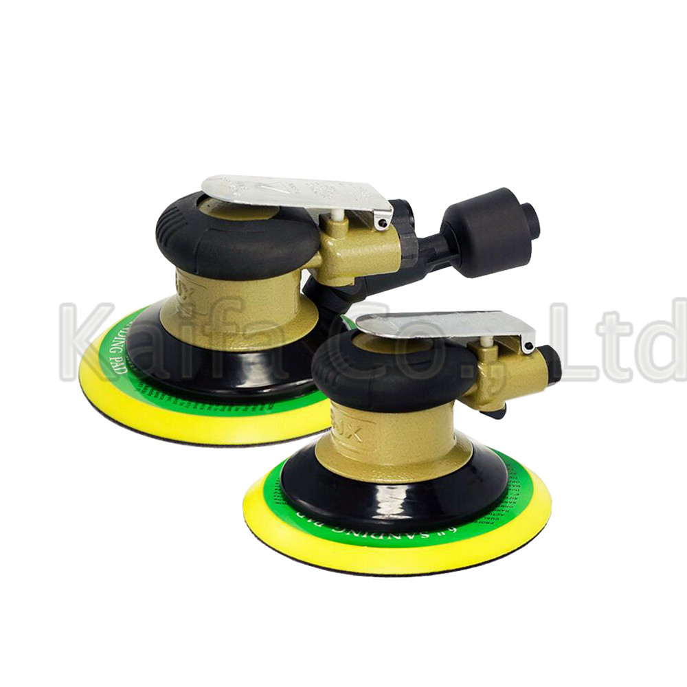 цена на 1pcs 5/6Inch Non-vacuum Matte Surface Circular Pneumatic Sandpaper Random Orbital Air Sander Polished Grinding Machine Hand Tool