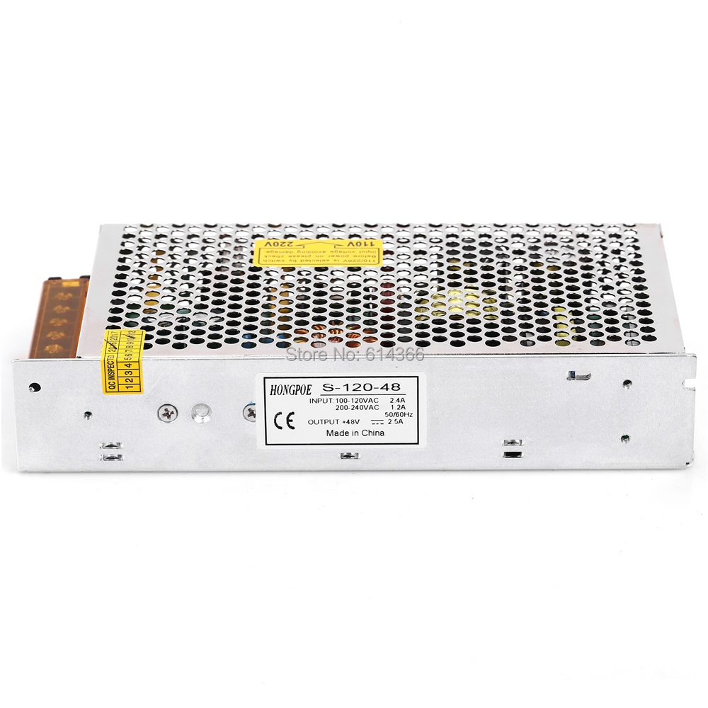 120W 48V 2.5A Switching power supply input 100-240VAC for industrial control AC to DC power suply 48V 120w power supply 1pcs 60w 12v 5a power supply ac to dc power suply 12v 60w power supply 100 240vac 111 78 36mm