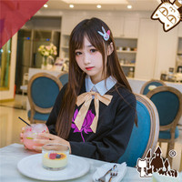 2019 Popular Cosplay Costume OW Black Cat DVA Cosplay Costume Black Skirt Lolita suit lovely style A