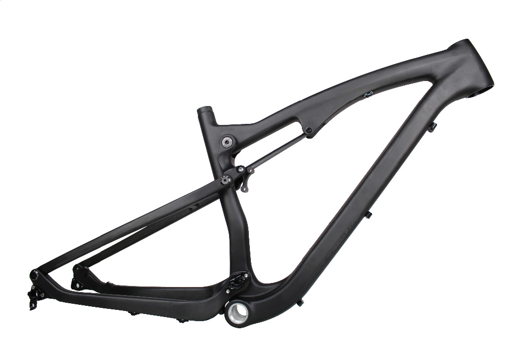 MIRACLE Mountain Bike Carbon Fiber Full Suspension bicicleta Frame ...