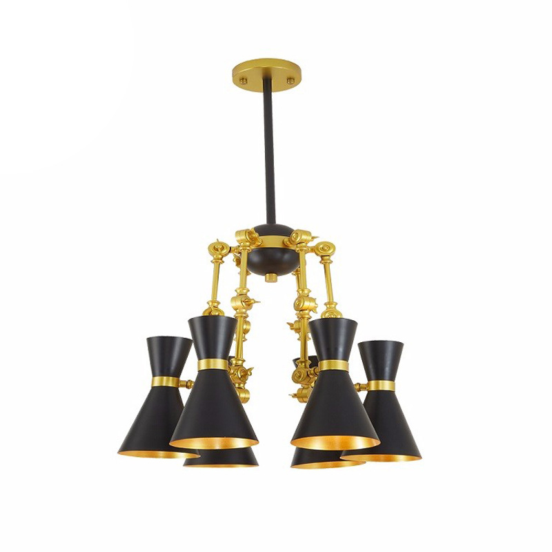 Modern minimalist iron creative adjustable chandeliers corridors porch lamps balcony lighting hall entrance lights (2)