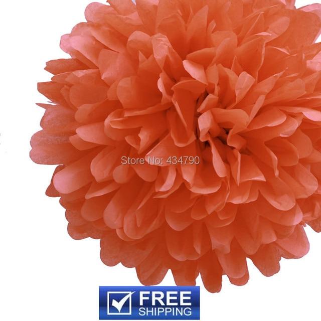 Aliexpress buy 20pcs 1435cm wholesale tissue paper flower 20pcs 1435cm wholesale tissue paper flower balls peach nursery gender reveal mightylinksfo