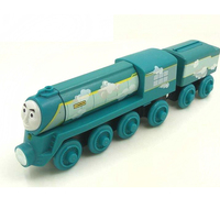 Free Shipping RARE Roll N Whistle Connor Thomas And Friends Wooden Magnetic Railway Model Train Engine