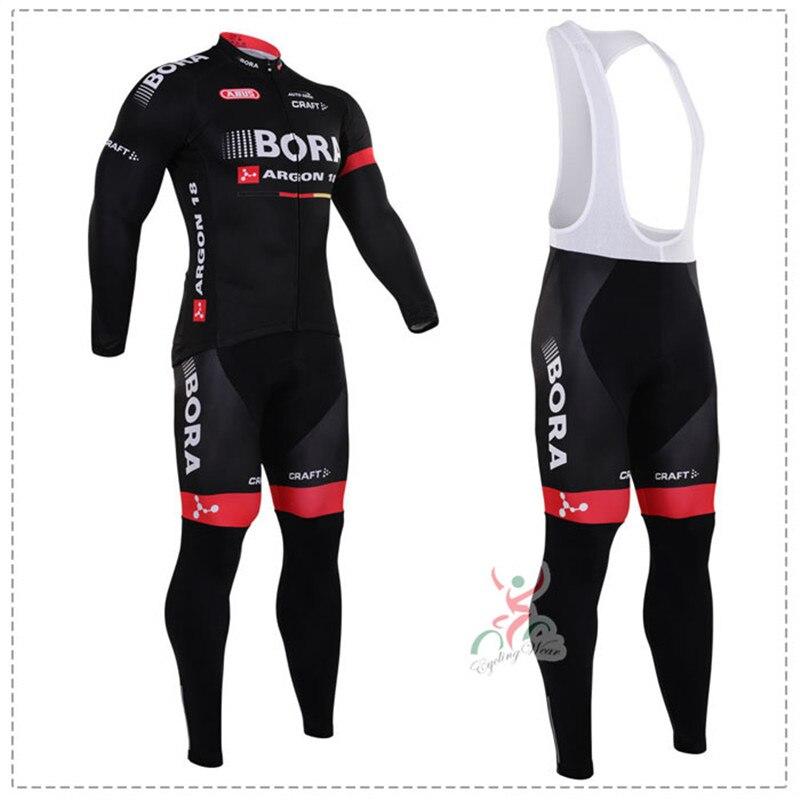 ФОТО Bora Argon 18 ropa ciclismo hombre 2017 Long Sleeves cycling jersey mtb bike maillot mountain Bicicleta cycling clothing set
