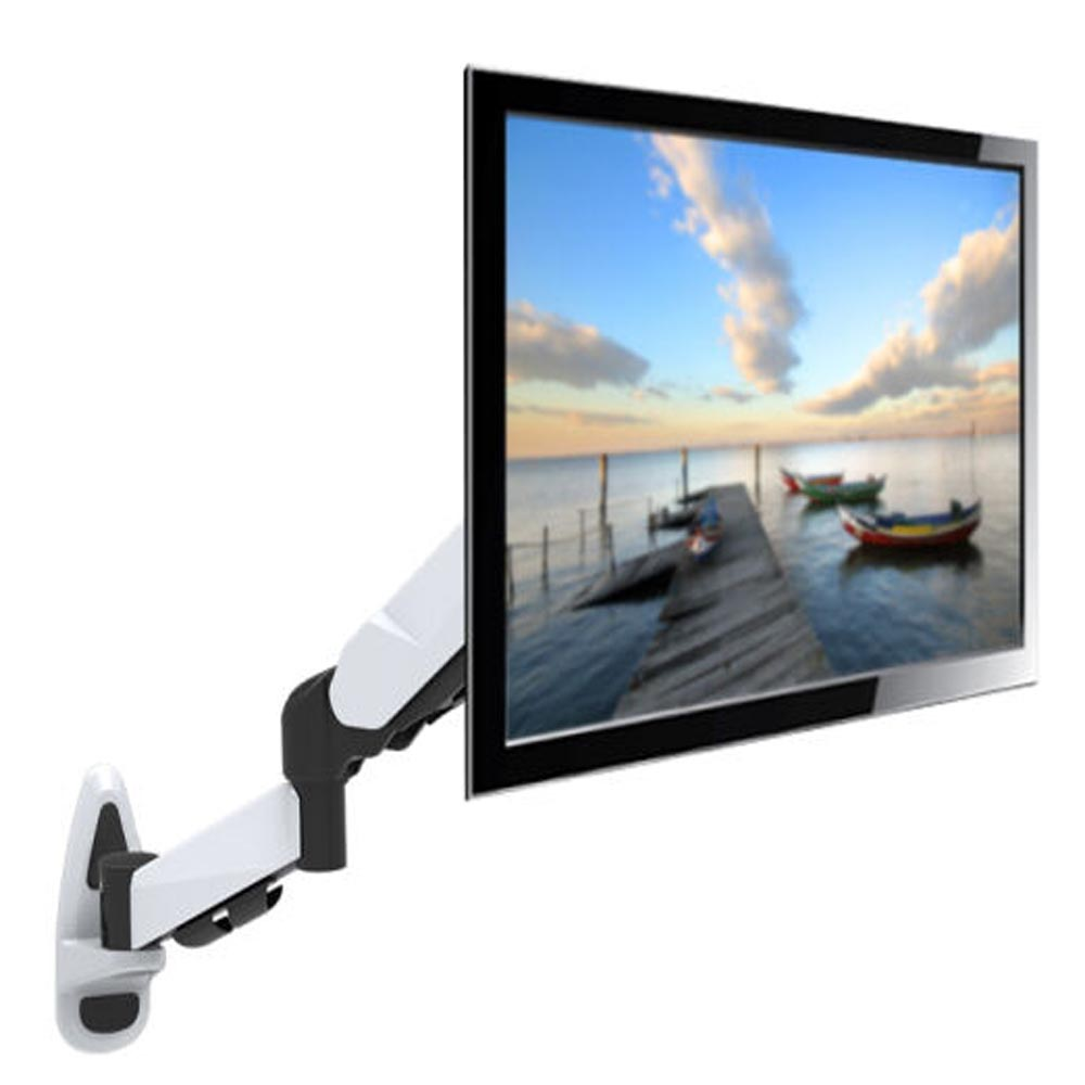 HONGHUA 15-27 LCD LED TV Wall Mount Monitor Holder Ergonomical SPCC cold rolling steel Loading 2-7kgs buy monitor wall mount