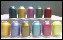 11 Spools BRIGHT COLORS Embroidery Machine Thread Free Ship