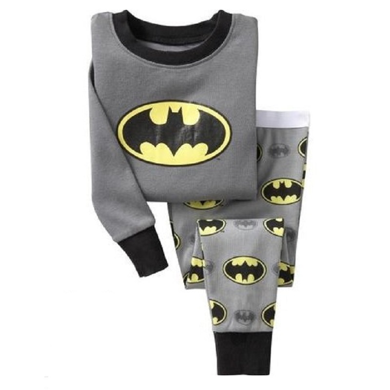 font b Batman b font Boy font b pajamas b font suit Super Hero Long online buy grosir batman anak piyama from china batman anak piyama,Baju Anak Anak Batman