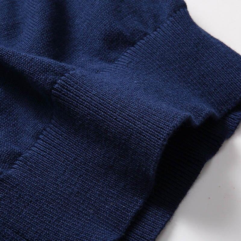 Varsanol Cotton Sweater Miesten pitkähihainen neuletakki Miesten - Miesten vaatteet - Valokuva 6