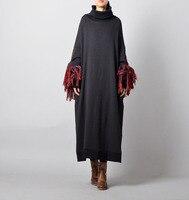 Для женщин Ретро Свободные длинным рукавом Ленточки Твердые толстовки кофты теплые женские осень зима верхняя одежда с капюшоном куртка па