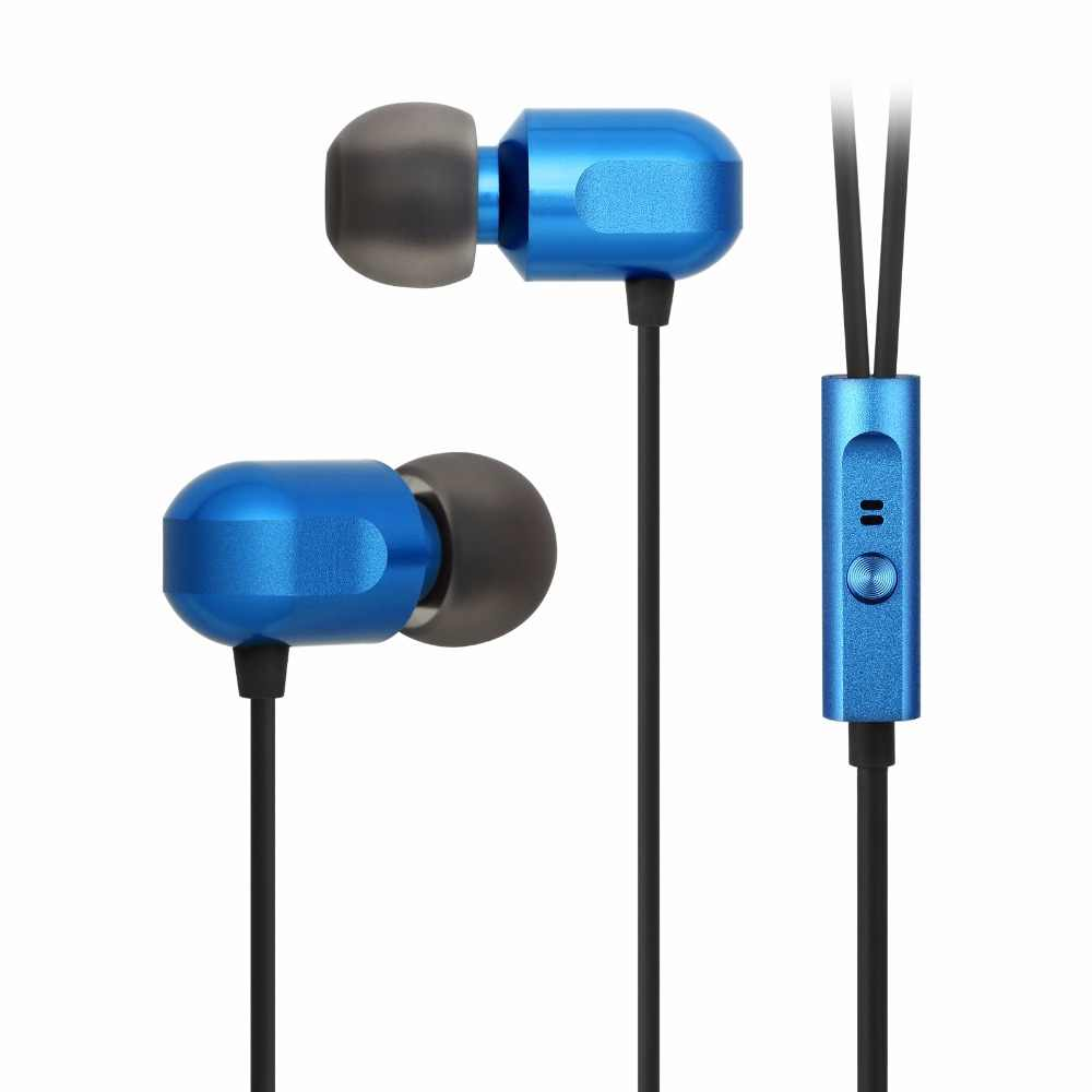 GGMM C700 Earphone In-Ear Ear phones with Mic 3.5mm 100% Full Metal Headsets Wired Earphone for iPhone X XS Max Xiomi Mp3 Player