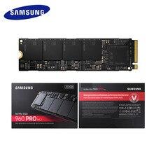 Samsung внутренний SSD 960 PRO 512 ГБ 1 ТБ 2 ТБ Внутренние твердотельные накопители PCIe 3,0×4 NVMe 1,2 жесткий диск для портативных ПК компьютер D