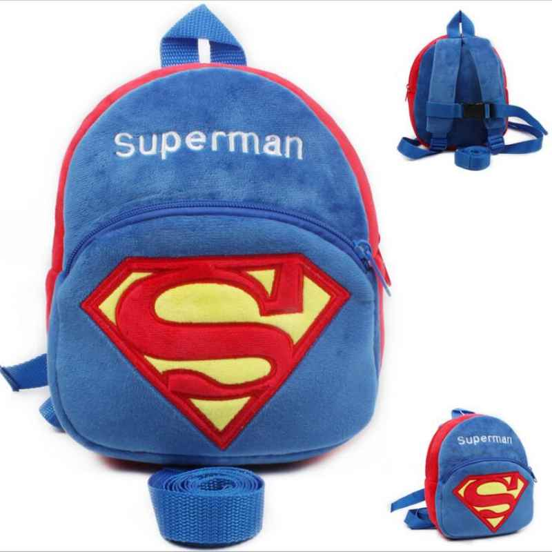 New Soft SupermanBaby Walking Wings Kids Keeper Children Backpacks For Baby Strap Bag Anti lost Baby