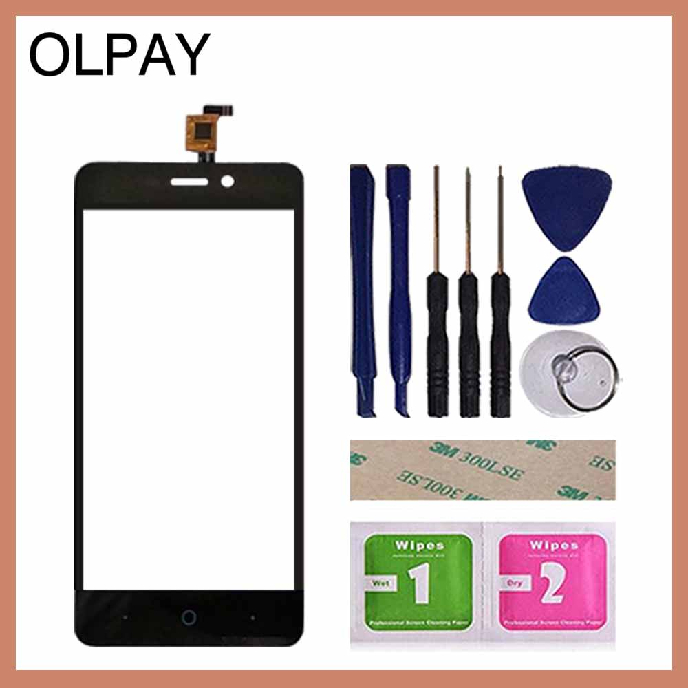 Image 2 - OLPAY 5.0'' Mobile Phone Touch Screen Digitizer For ZTE Blade T620 A452 X3 D2 Touch Glass Sensor Tools Free Adhesive And Wipes-in Mobile Phone Touch Panel from Cellphones & Telecommunications