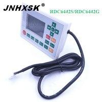 JNHXSK Ruida RDC6442S/RDC6442G kontrol paneli Ruida 6442 lazer oyma makinesi için kullanılan 4060/6090 ruida sistemi ücretsiz kargo