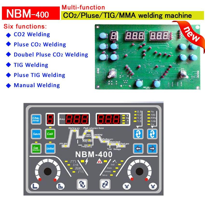 все цены на NBM 400 multi-function welding machine opertion panel board for онлайн