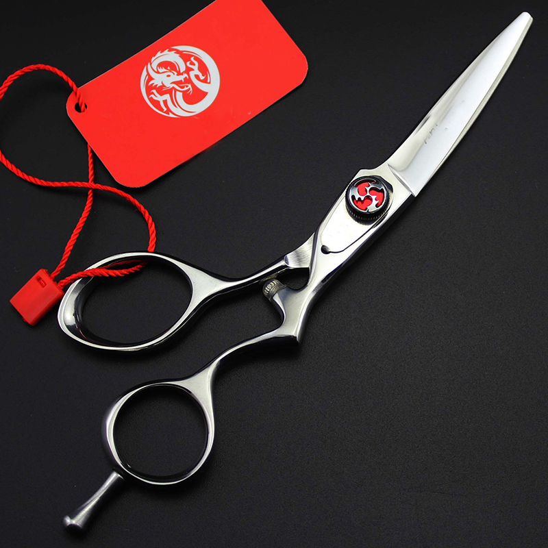 5.5 inch Sliver Hair Cutting Scissor Professional Shears Personality High Quality Tool For Hairdressers5.5 inch Sliver Hair Cutting Scissor Professional Shears Personality High Quality Tool For Hairdressers