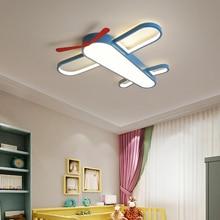 купить Modern aircraft ceiling light creative LED lamp for kid room children bedroom study room Kindergarten light fixture decorative по цене 6610.82 рублей