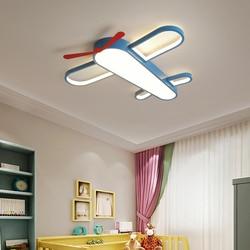 Nowoczesne samoloty światła sufitowe kreatywny lampa LED do pokoju dzieciak dzieci sypialnia study room przedszkole oprawa światła dekoracyjne|Oświetlenie sufitowe|Lampy i oświetlenie -