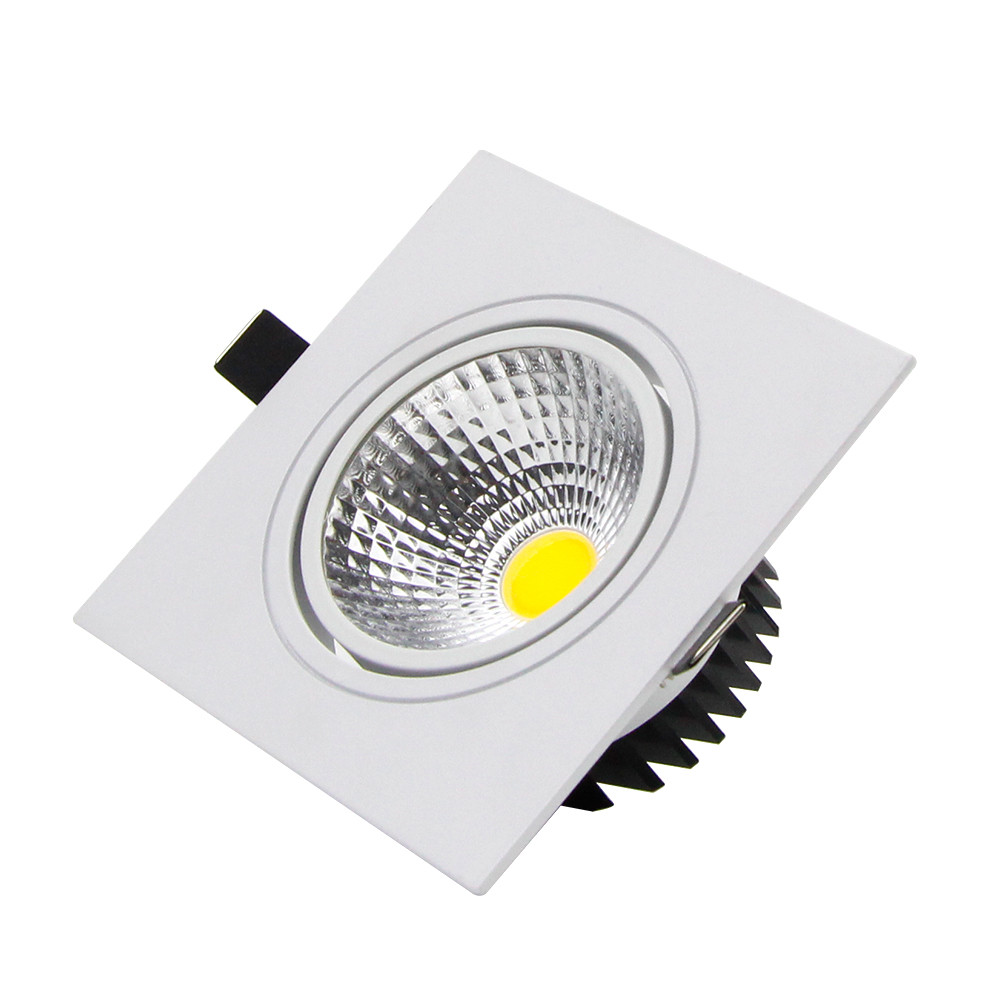 Downlights quadrado downlight 7 w 9 Light Source : Led Bulbs