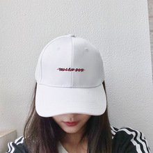 Couple Cap Snapback-Hat Baseball-Cap Embroidery Sun-Visor Casual Unisex Letter Cotton