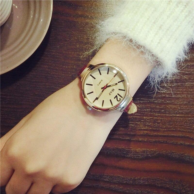 2017 Ladies Retro Wrist Watch Male Female Quartz Watch Simple Casual Fresh Watches Montre Femme Relogio