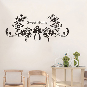 Sweet Home flower vine Wall St