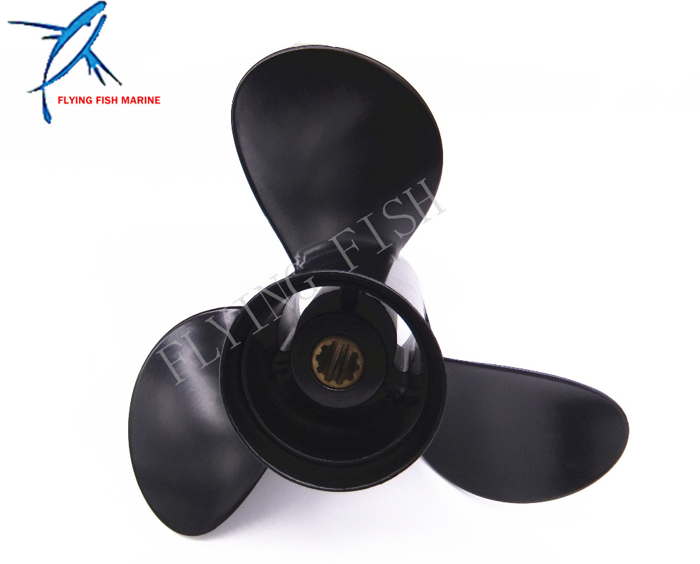 Outboard Motor propeller 9.9x13 for Tohatsu / Nissan 25hp 30hp Motor Engine 9.9 x 13