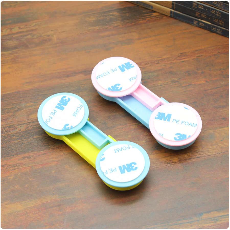 1 pc พลาสติกตู้ล็อคเด็กความปลอดภัยเด็กป้องกันเด็กปลอดภัยล็อคสำหรับตู้เย็นเด็กความปลอดภัยลิ้นชัก Latches